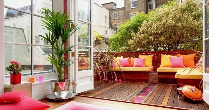 C mo decorar balcones y terrazas peque as terrazas for Fotos terrazas pequenas