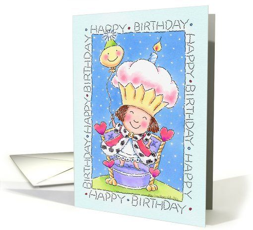 Best Queen For A Day Drama Queen All The Queens Images On - Childrens birthday cards for the queen
