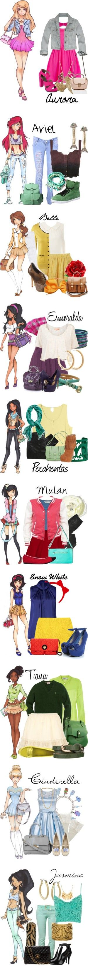 """Disney High"" by disneykid95 on Polyvore                                                                                                                                                                                 More"