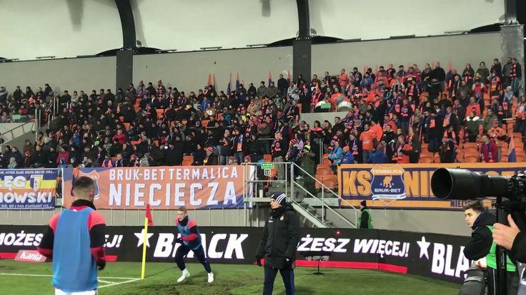 E: Bruk-Bet Termalica Nieciecza - Wisła Kraków. [BB fans] 2017-11-27