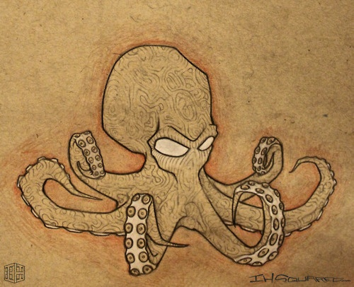 octopus tattoo ideas pinterest ink art. Black Bedroom Furniture Sets. Home Design Ideas