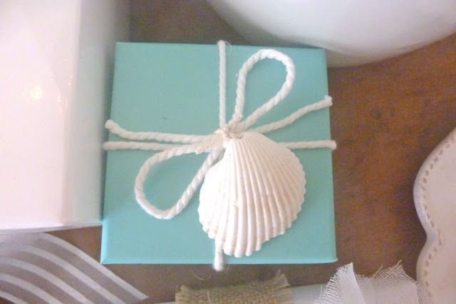 Everything Coastal....: Beachy Gift Wrap Ideas