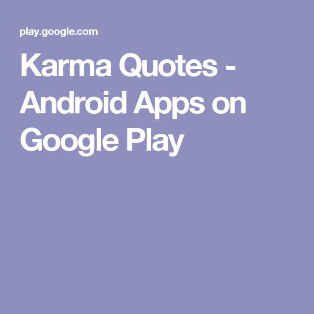 Karma Quotes Android Apps on Google Play (With images
