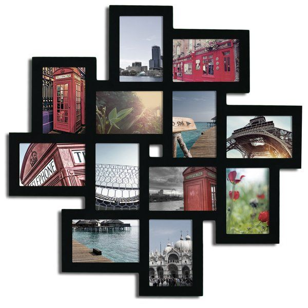 Nordman 12 Opening Decorative Wood Photo Collage Wall Hanging Picture Frame Frames On Wall Hanging Picture Frames Framed Photo Collage