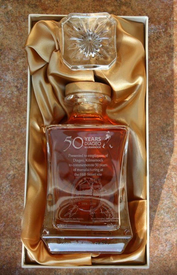 Johnnie Walker Diageo 50 Year Anniversary Edition