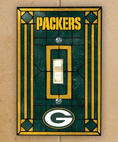 Take a look at this Green Bay Packers Single Switch Cover by NFL Game Day: Gift Shop on #zulily today!