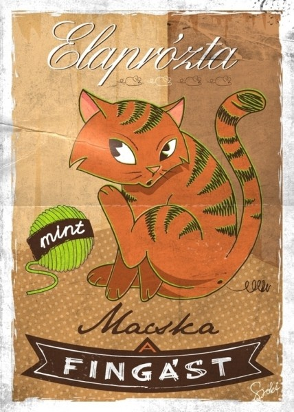 Elaprózta mint macska fingást -   The cat's fart is choppy. -  This is said about a person who takes too long to pay back his debt or pays  back his debt in many small payments.
