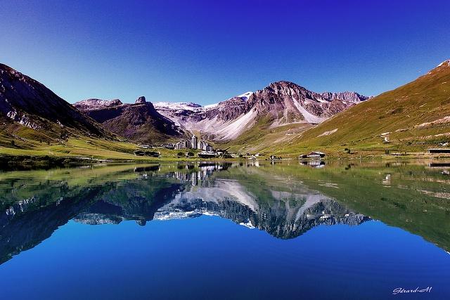 Lac de Tignes > by Gérard Marconnet - via Flickr.com