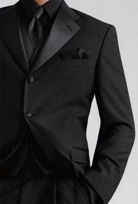 All black suit....yep that's where it's at. followed shortly by the floor.