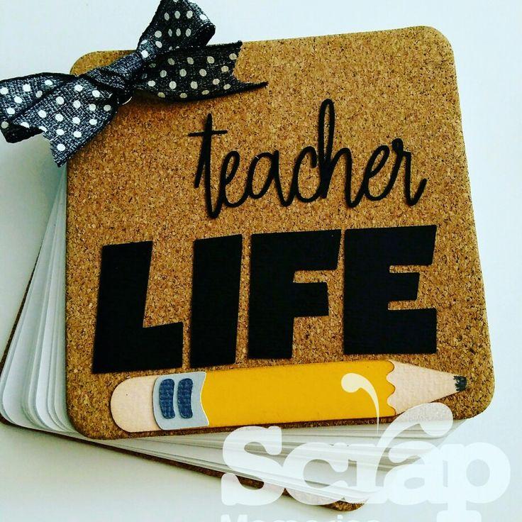 Libretas día del maestro