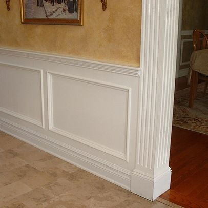 19 best images about wall moulding on pinterest revere for Decorative wall trim ideas