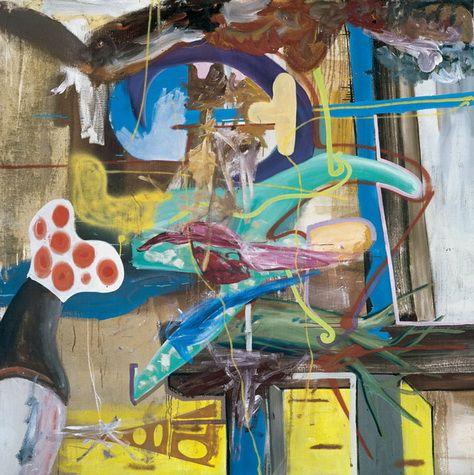 Peon - Albert Oehlen - New European Painting, 1996