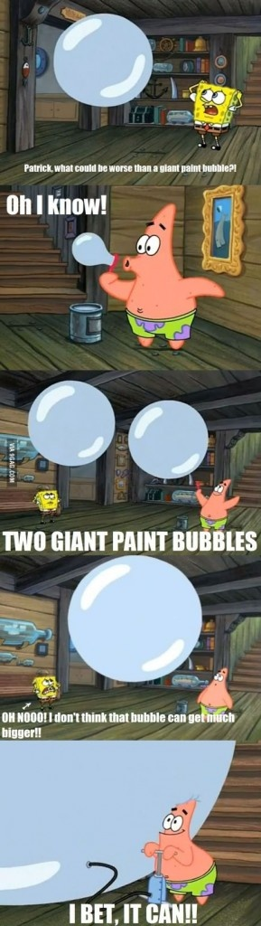 Good guy Patrick Star!