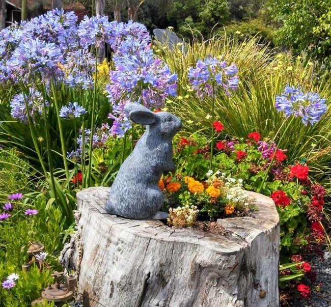 Best Baumstamm Garten Ideas On Pinterest Baumstumpf