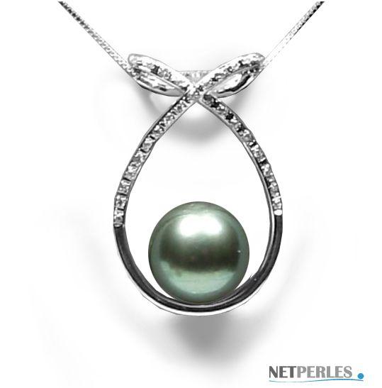 Pendentif perle de tahiti maty