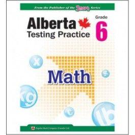 Alberta Provincial Testing Practice Grade 6 Math (PAT) - Alberta Curriculum - Curriculum - Categories : Knowledge Quest Books.