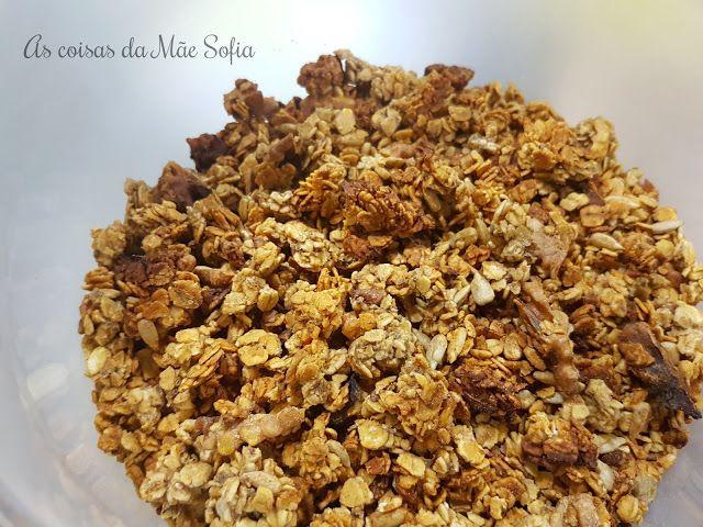 Granola de Cevada, Nozes e Canela