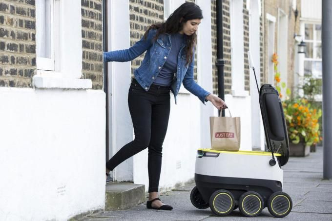 Self-driving delivery robots could soon be common sights in European cities http://amzn.to/2spaSgC