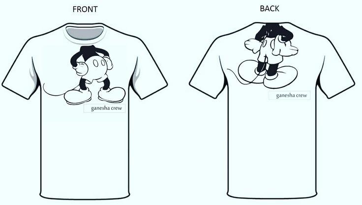 Ganesha Tshirts for Kids. Details on https://m.facebook.com/abearhug4u/