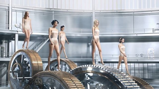 Jean-Paul Gaultier | Welcome to the Factory CREDITS  Client: Puig Agency: Mlle Noi  Production Co.: Stink Paris Ex. Producer: Greg Panteix Producer: Benoit Roques  Direction: Dvein (in collaboration with Photographer Miles Aldridge) Cinematographer: Daniel Landin Set Designer: Jean Michel Bertin 1st AD: Daniel Dittmann  Post-production: Mikros Image Additional art direction: Dvein, Alba Ribera, Maxim Goudin Editing: Walter Mauriot  Concept Art & additional stroyboard: Use...