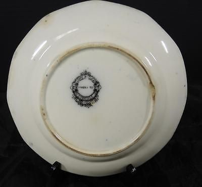 "Antique John Alcock Mulberry 8 1/4"" Plate * Vincennes Pattern"
