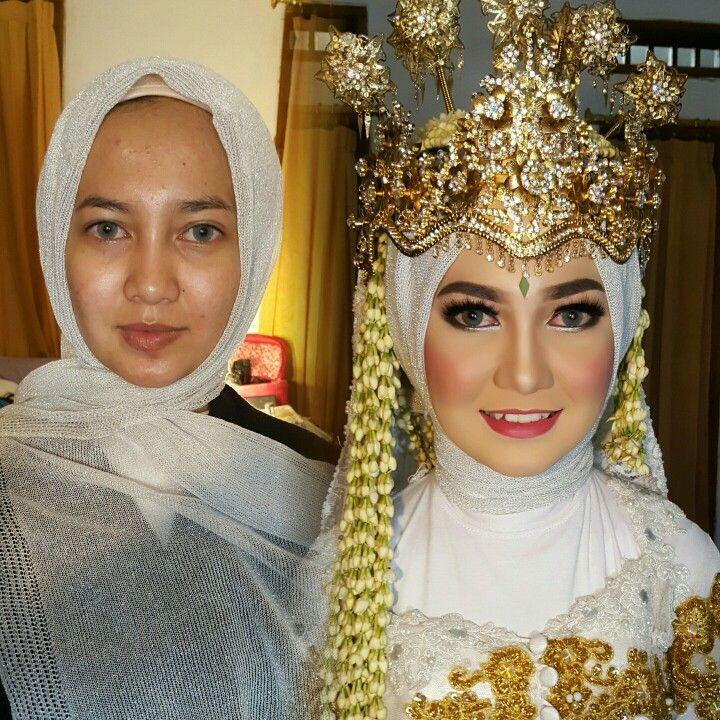 18 Maret 2017 Wedding Tantri & Fauzan Makeup pengantin Sunda Siger