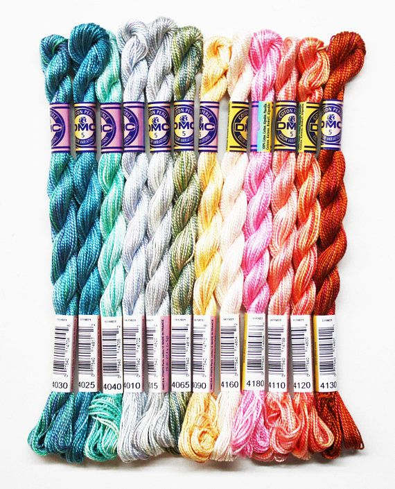 DMC Perle Cotton Pearl Embroidery Thread Crochet Quilting