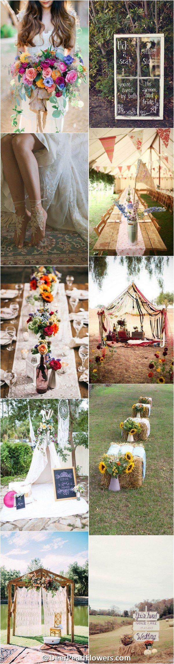 best 25 bohemian wedding reception ideas on pinterest boho