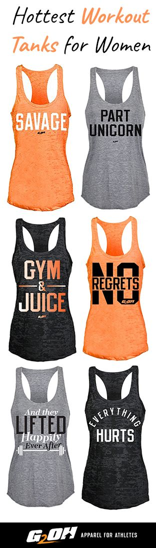 Discover the hottest tank tops for women who are out there crushing every workout.  For the women who put themselves out there, challenge themselves and work to get stronger every day.  At G2OH you'll find an extensive collection of workout apparel.  Our designs are available in both burnout and tri-blend tank top options.  Made with high quality materials, you'll find our clothes are super comfortable, retains shape, and dries quickly. See what all the fuss is about - shop G2OH  today!