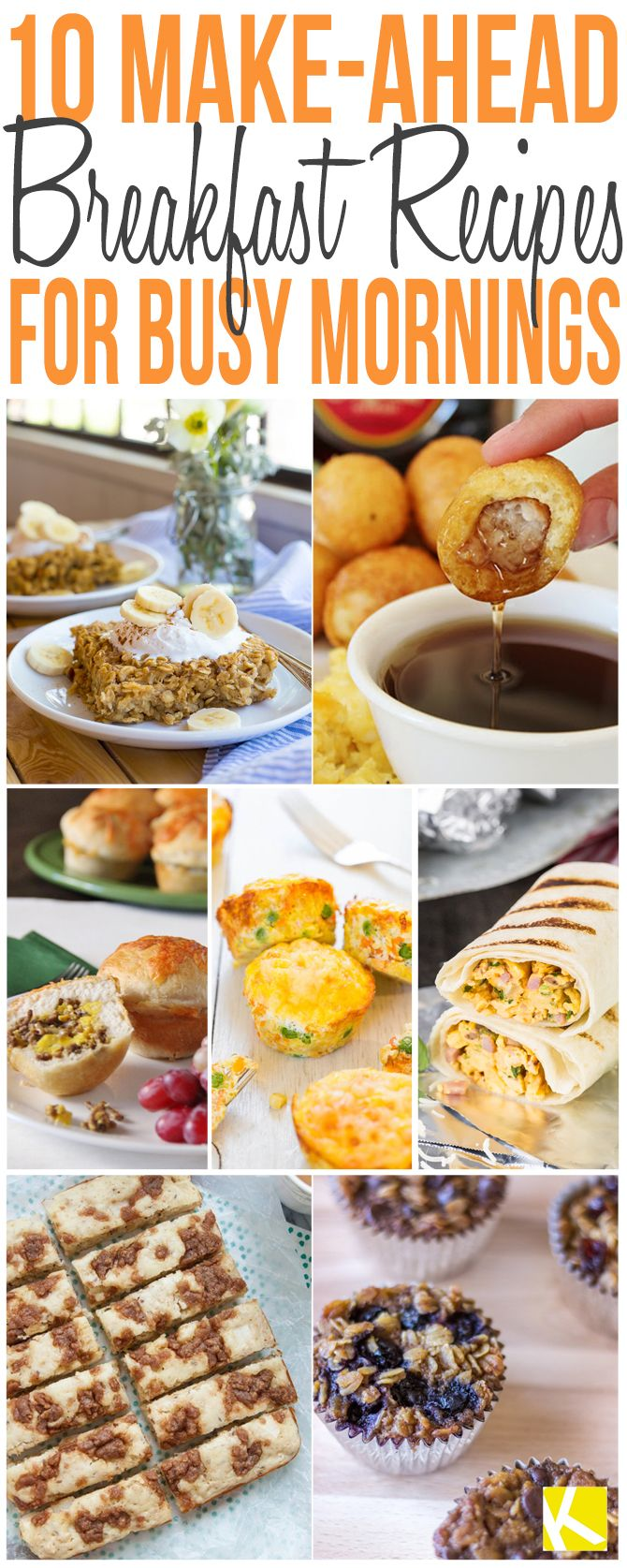 10 Quick and Easy Make-Ahead Breakfast Recipes (Make Ahead Breakfast)
