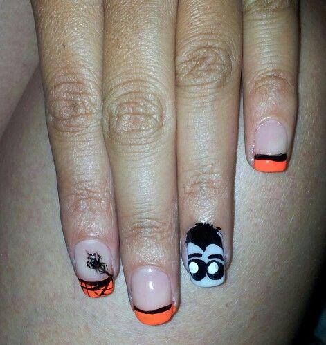 Halloween nails - Nail art - uñas
