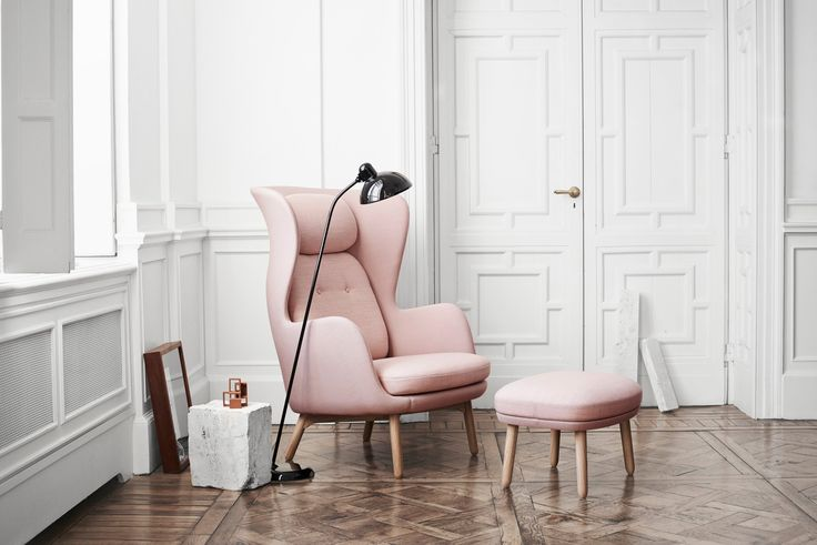 Few pieces of furniture make a statement like a wing chair — or are more comfortable.