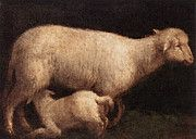 "New artwork for sale! - "" Bassano Jacopo Sheep And Lamb by Jacopo Bassano Jacopo da Ponte "" - http://ift.tt/2pcOp4D"
