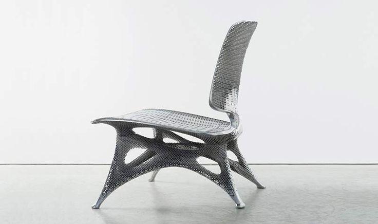 알루미늄 그라디언트 체어 - 3D프린팅으로 미래 디자인 제시 | 자이지스트(XYZist®) _대한민국 대표 3D프린팅 네트워크