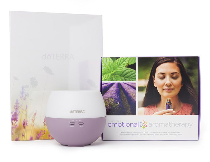 Emotional Aromatherapy Diffused Enrollment Kit (Spanish)  www.essentialenthusiast.com