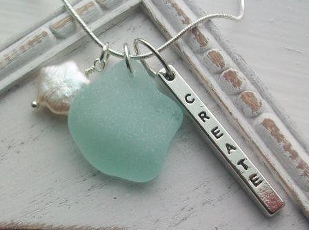 CREATE Scottish Sea Glass Necklace