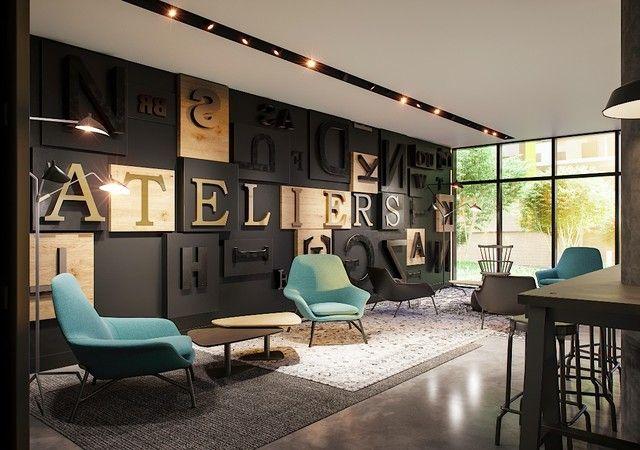 ATELIER CASTELNAU, lounge avec divan