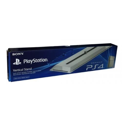 génial Support Vertical Sony PS4 Blanc pour console Playstation 4 Sony chez FNAC
