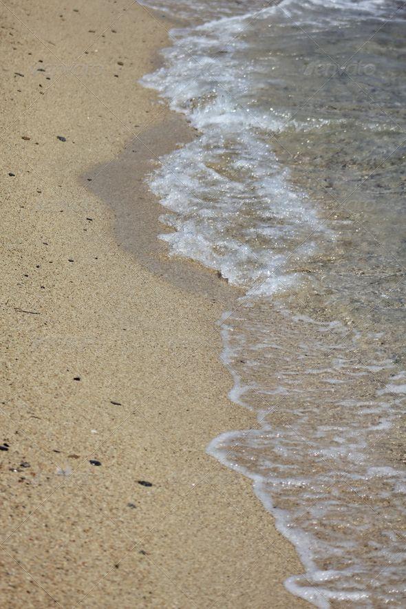 Sandy Beach Closeup