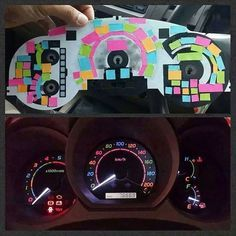 Color Your Dashboard Lights awesome!