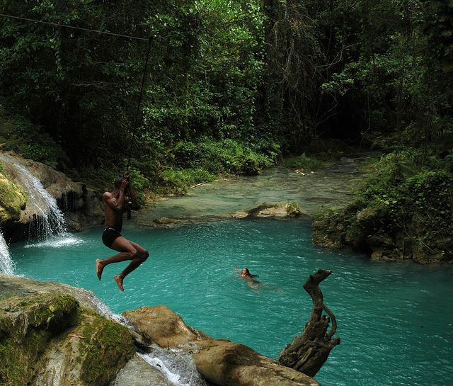 Best Places to Visit When in Jamaica - Blue Hole Mineral Spring