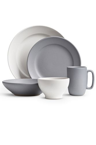 "Home Essentials The Pros Rely On: Heath Ceramics Dinnerware — ""Heath Ceramics is a 60-year-old company that makes good, well-made, simple, and beautiful designs that'll forever be stylish and utilitarian. It's a dinnerware company that's used in many West Coast restaurants, and fits in beautifully in your home, as well."" Heath Ceramics Peralta Full Dinnerware Set, $135, available at Heath Ceramics."