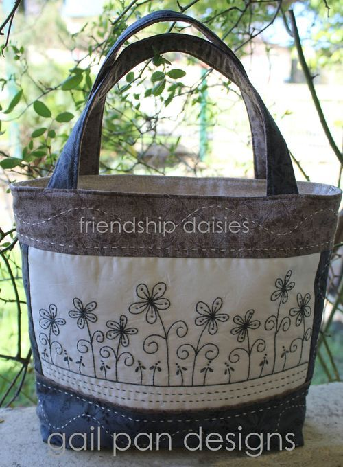 friendship daisies bag