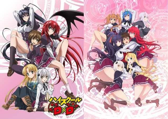 That Change In Art Style Tho Anime High School Anime Highschool Dxd