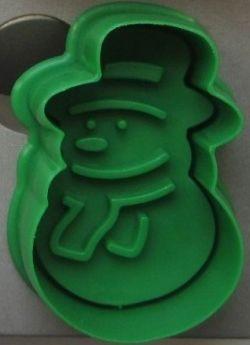 Sneeuwpop koekjes uitsteker cookie cutter taart cupcake decoratie