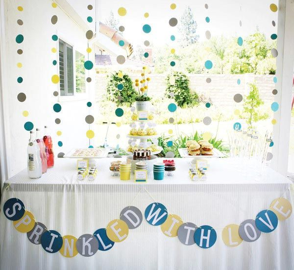 Love this baby shower theme
