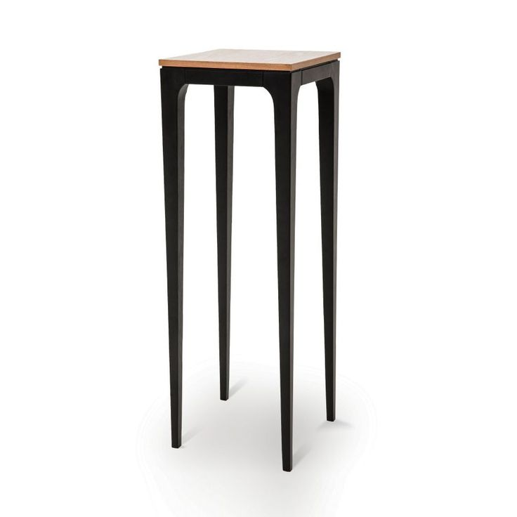 If you need a stylish table for a tight corner, look no further than this tall accent table. Bringing together contemporary design with sleek ash wood construction, it complements any space with little effort.