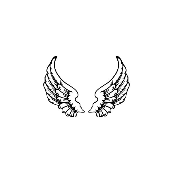 Angel Wings clip art liked on Polyvore | Polyvore | Pinterest