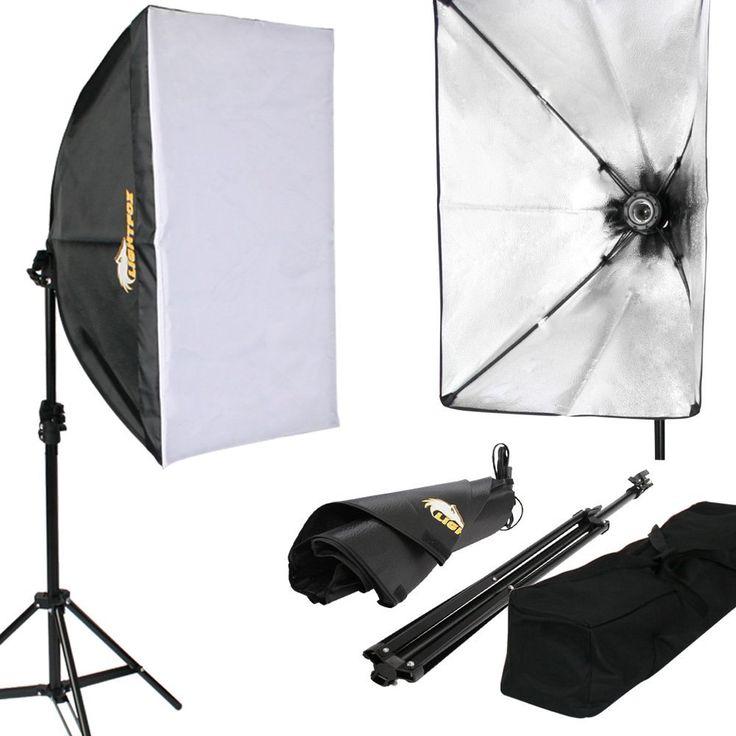 Lightfox Profi Studioleuchte Fotostudio Set inkl.: Amazon.de: Elektronik