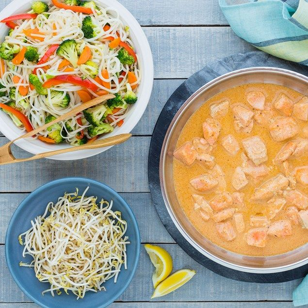 This quick and easy Thai red curry will be a hit with the whole family